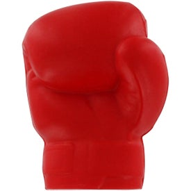 Boxing Glove Stress Reliever with Your Slogan