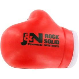 Printed Boxing Glove Stress Ball