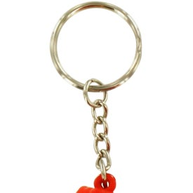 Boxing Glove Stress Reliever Key Ring for Customization