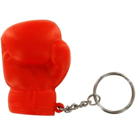 Boxing Glove Stress Reliever Key Ring for your School