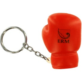 Boxing Glove Stress Reliever Key Rings