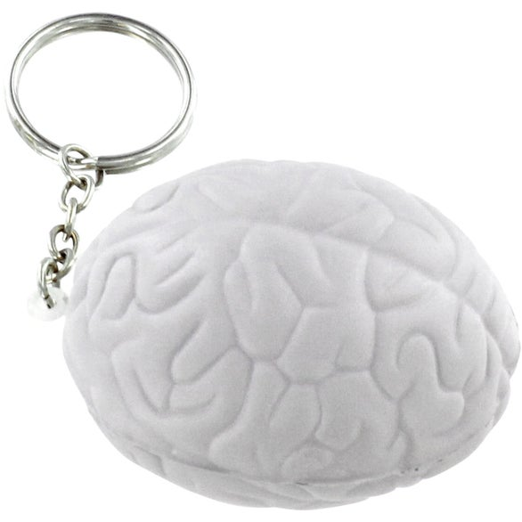 Brain Key Chain Stress Ball