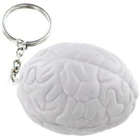 Brain Key Chain Stress Ball