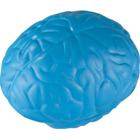 Squeezable Brain Stress Ball for Your Company