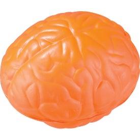 Custom Brain Stress Ball with Your Slogan
