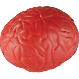 Squeezable Brain Stress Ball Printed with Your Logo