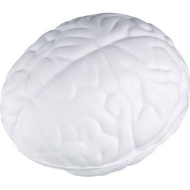 Branded Squeezable Brain Stress Ball