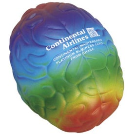 Promotional Rainbow Brain Stress Ball
