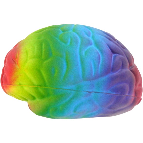 Rainbow Brain Stress Ball