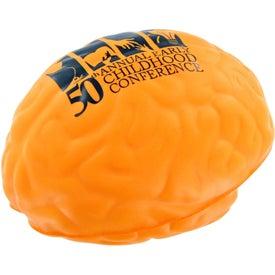 Monogrammed Brain Stress Toy