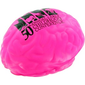 Brain Stress Toy Imprinted with Your Logo