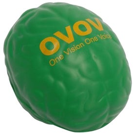 Brain Stress Toy Branded with Your Logo