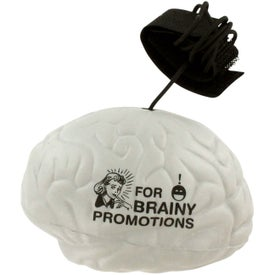 Brain Stress Ball Yo Yo with Your Slogan