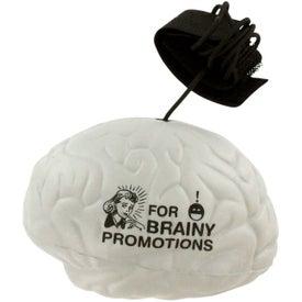 Brain Stress Ball Yo Yo with Your Slogan