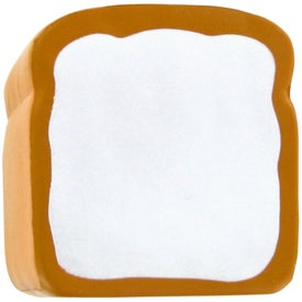 Bread Stress Toy Imprinted with Your Logo