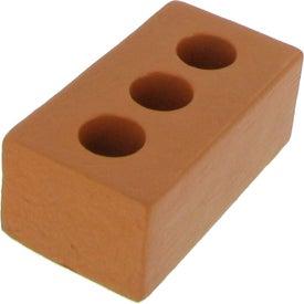 Printed Brick Stress Reliever