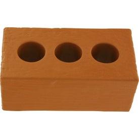 Company Brick with Holes Stress Ball