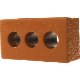 Printed Brick with Holes Stress Ball