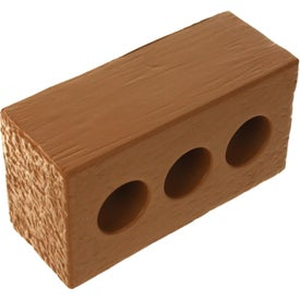 Brick with Holes Stress Ball Giveaways