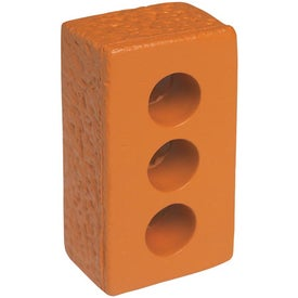 Brick Stress Relievers Imprinted with Your Logo