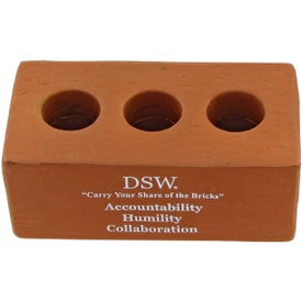Company Brick With Holes Stress Toy