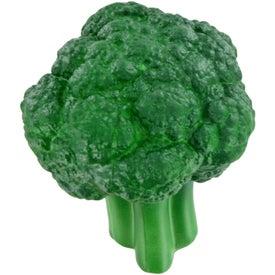 Printed Broccoli Stress Ball