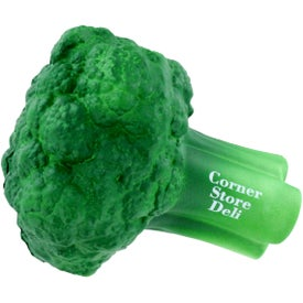 Custom Broccoli Stress Ball