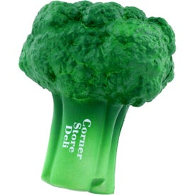 Broccoli Stress Ball with Your Slogan