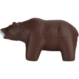 Brown Bear Stress Toy for Your Company