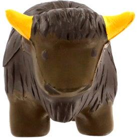 Imprinted Buffalo Stress Reliever