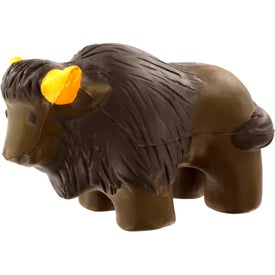 Monogrammed Buffalo Stress Reliever