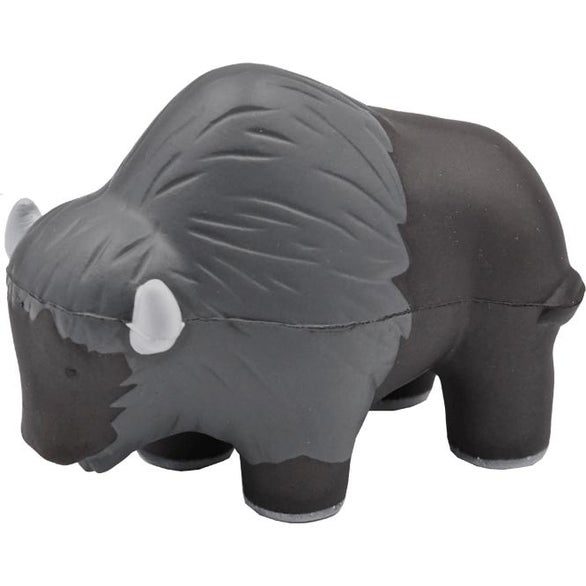 Gray Buffalo Stress Toy