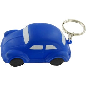 Bug Car Keychain Stress Toy for Advertising