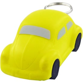Bug Car Keychain Stress Toy for Marketing