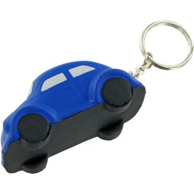 Bug Car Keychain Stress Toy for Promotion