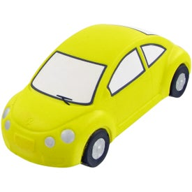 Bug Car Stress Toy Branded with Your Logo