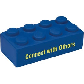 Printed Building Block Stress Ball