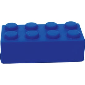 Building Block Stress Ball Branded with Your Logo
