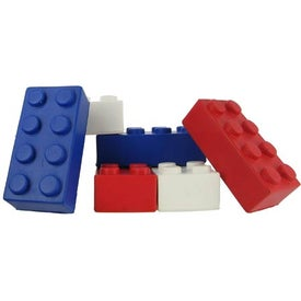 Building Block Stress Ball for Marketing
