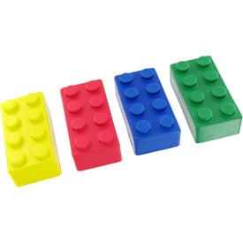Company Building Block Stress Toy