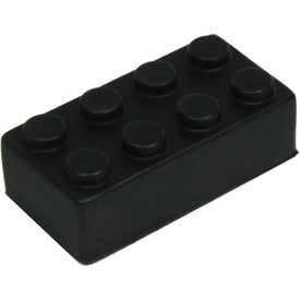 Imprinted Building Block Stress Toy