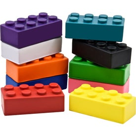 Printed Building Block Stress Toy
