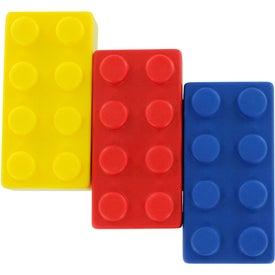 Imprinted Building Block Stress Ball