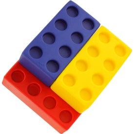 Building Block Stress Ball 4 Piece Set for Your Organization