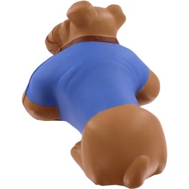 Branded Bulldog Stress Reliever