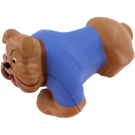 Bulldog Stress Reliever for Advertising