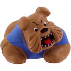Logo Bulldog Stress Reliever