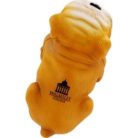 Customized Bulldog Stress Ball