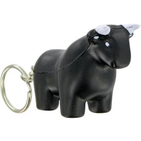 Bull Keychain Stress Toy