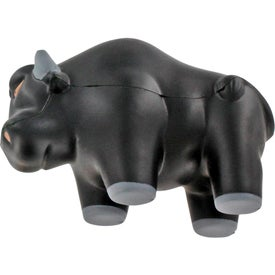 Wall Street Bull Stress Ball Printed with Your Logo